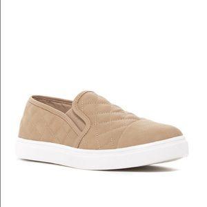 Steve Madden Zaander Slip On Sneakers Taupe Size 8